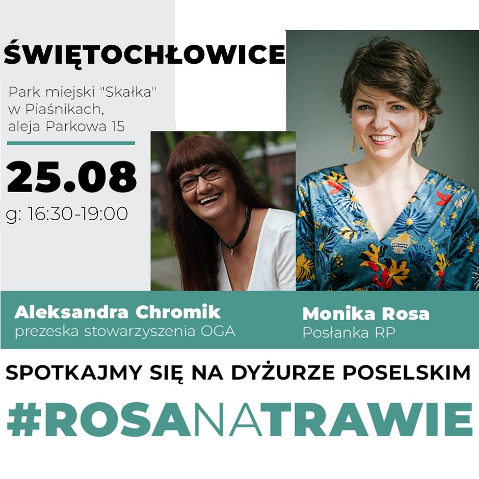 #RosaNaTrawie w Świętochłowicach | Monika Rosa