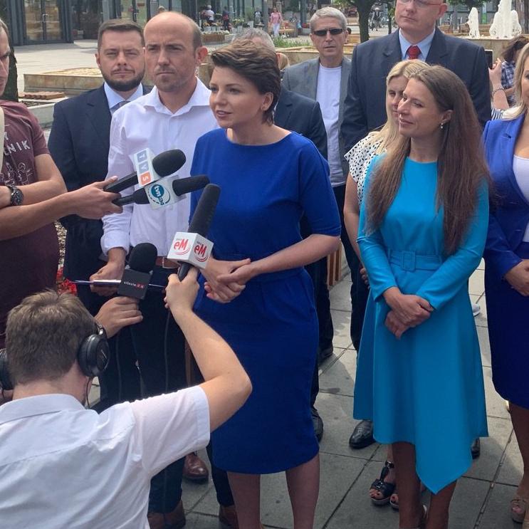 Prezentacja kandydatów w okręgu katowickim (31) | Monika Rosa