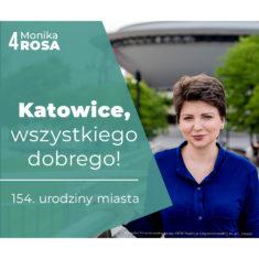 Katowice, wszystkiego dobrego!