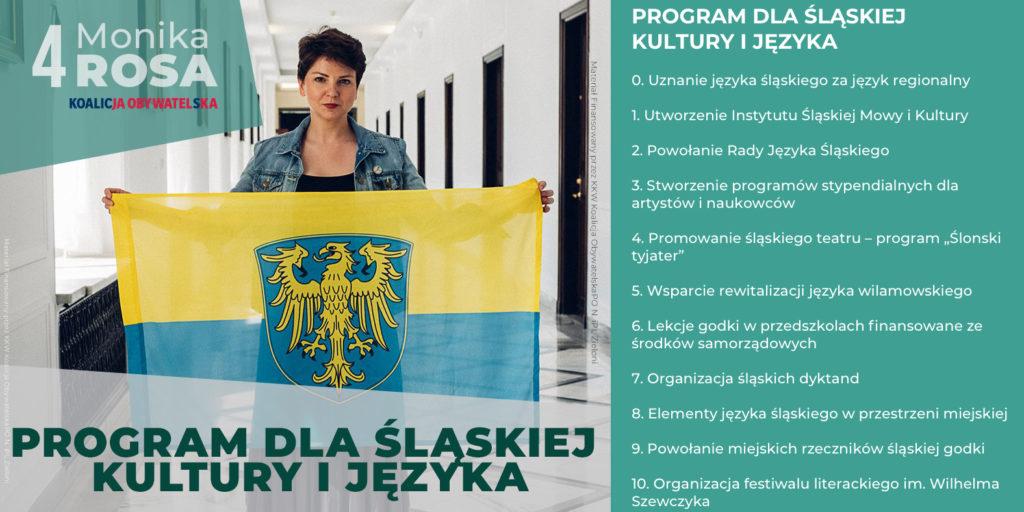 Program dla śląskiej kultury i języka | Monika Rosa