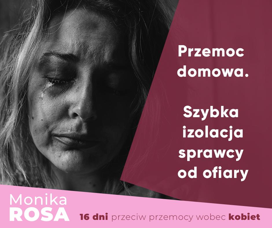 Przemoc domowa #TrzymamStronęKobiet | Monika Rosa
