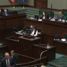 Posiedzenie Sejmu (7-10 styczeń)