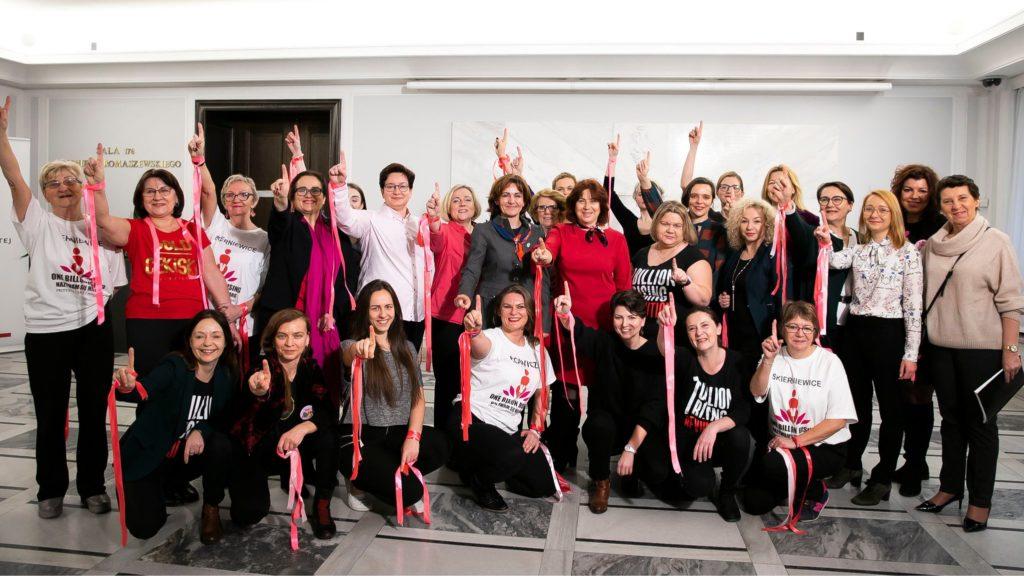 Nazywam się Miliard / One Billion Rising | Monika Rosa