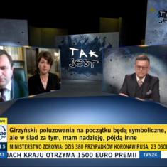 """Byłam gościem programu """"Tak jest"""" (TVN24)"""