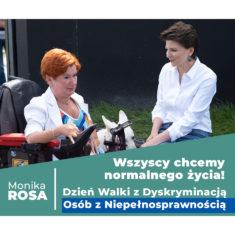 Dzień Walki z Dyskryminacją Osób z Niepełnosprawnością