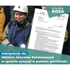 Interpelacja w sprawie sytuacji w polskim górnictwie