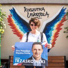 #Trzaskamy ulotki i plakaty dla Rafała!