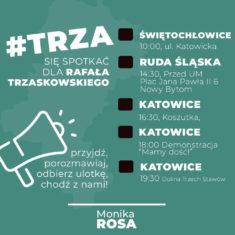 #TRZA się spotkać dla Rafała Trzaskowskiego