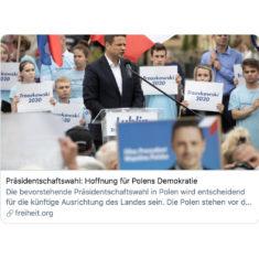 Komentarz odnośnie wyborów dla niemieckiej prasy