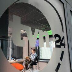 """Rozmowa dla """"Tak jest"""" w TVN24"""