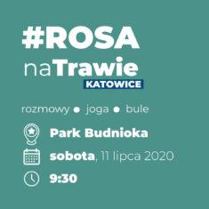 [Odwołane] Rosa Na Trawie w Parku Budnioka
