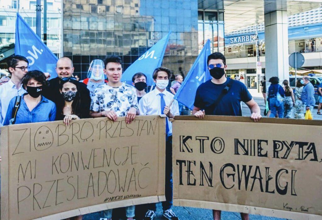 NIE dla wypowiedzenia konwencji antyprzemocowej! | Monika Rosa