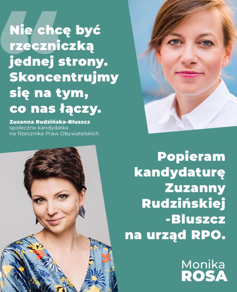 Zuzanna Rudzińska-Bluszcz | Monika Rosa