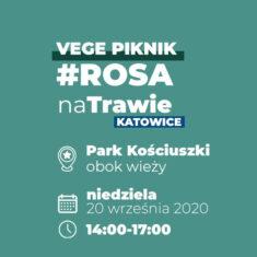 Vege Piknik #RosaNaTrawie