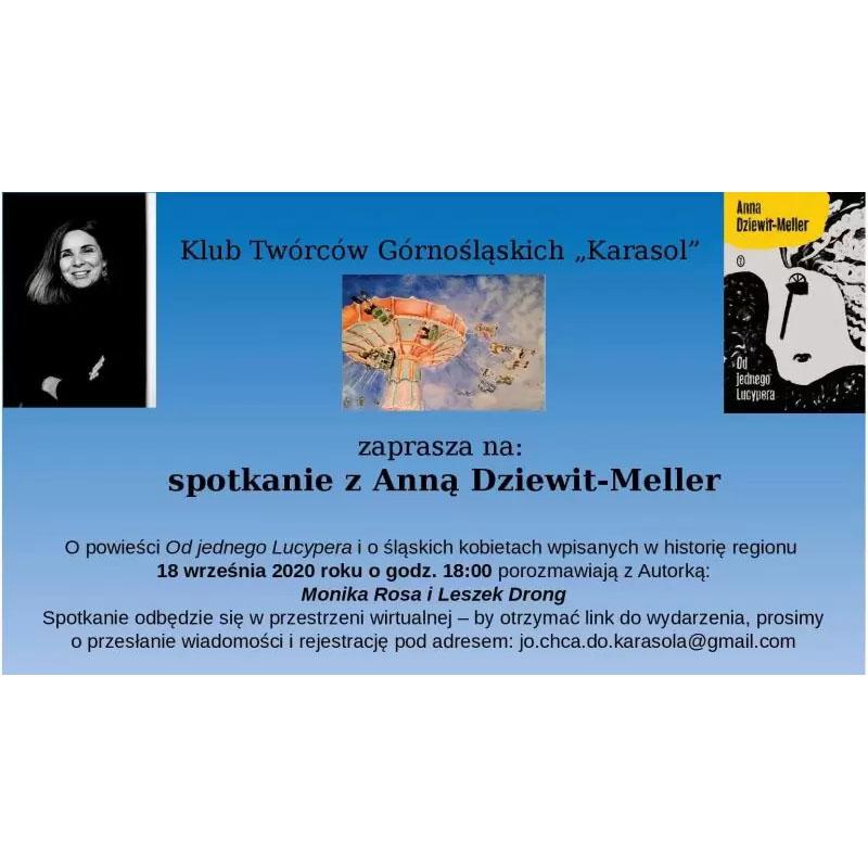 Spotkanie z Anną Dziewit-Meller | Monika Rosa