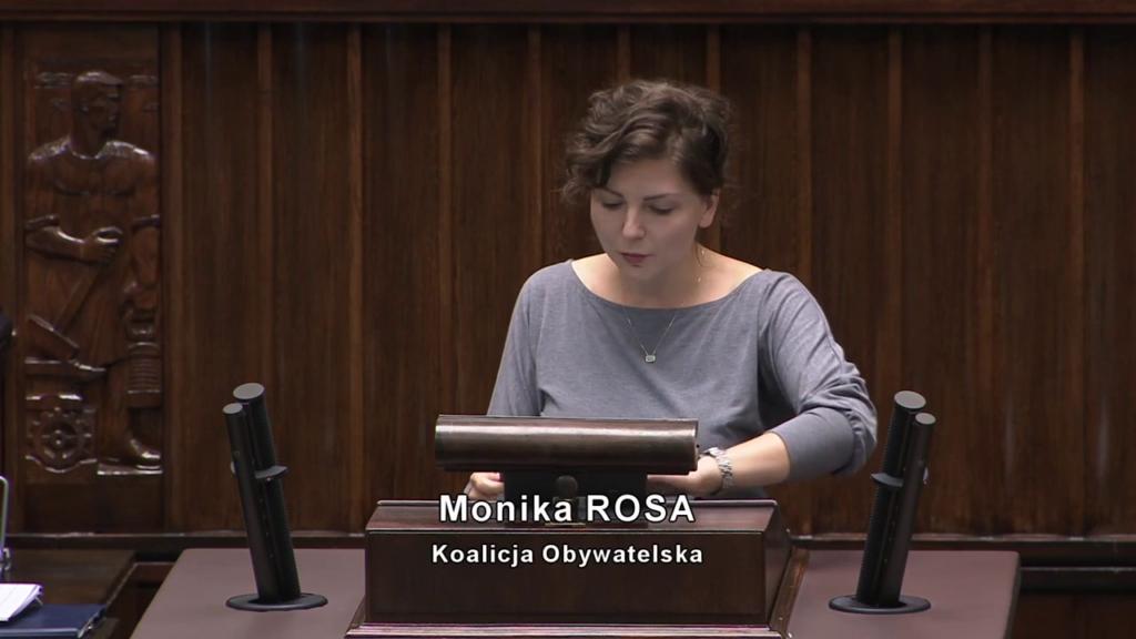 Posiedzenie Sejmu z dnia 16 września 2020 | Monika Rosa