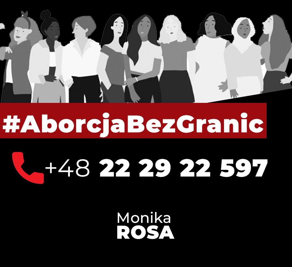 #AborcjaBezGranic   Monika Rosa