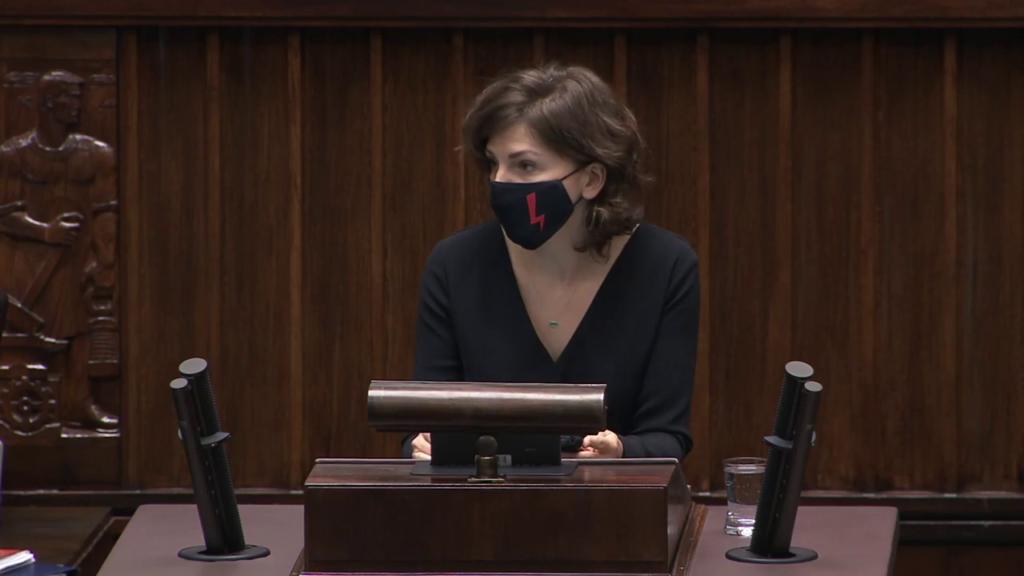 Posiedzenie Sejmu RP 27-28 października 2020 | Monika Rosa