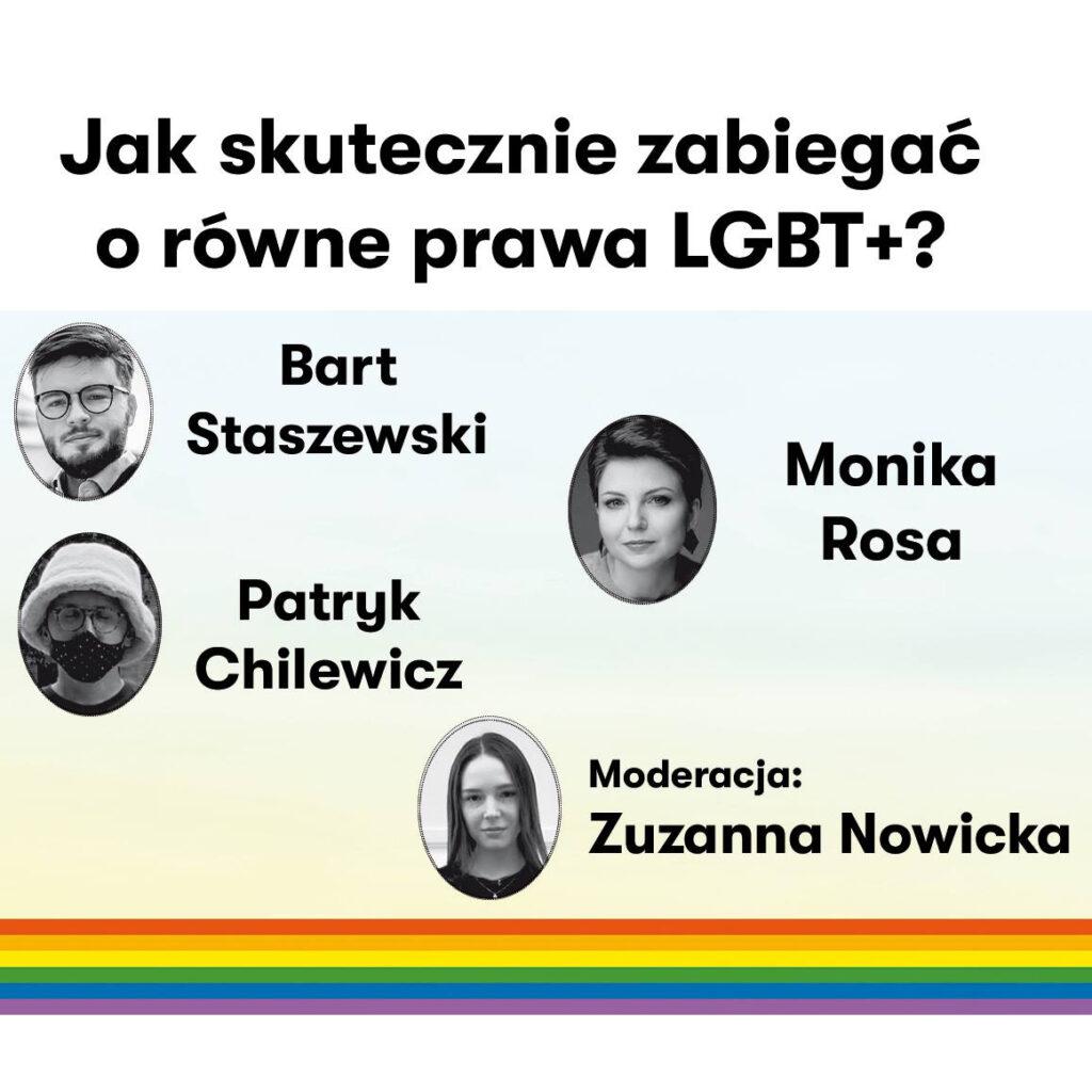 Jak skutecznie zabiegać o równe prawa LGBT? - Igrzyska Wolności   Monika Rosa