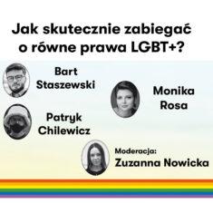 Jak skutecznie zabiegać o równe prawa LGBT? – Igrzyska Wolności