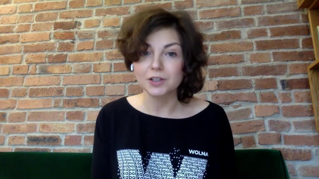 """Debata tygodnia"" w Telewizji Regionalnej TVT   Monika Rosa"