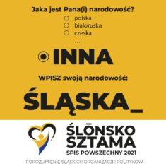 Ślōnskŏ Sztama – Spis Powszechny 2021