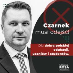 Minister Czarnek musi odejść.