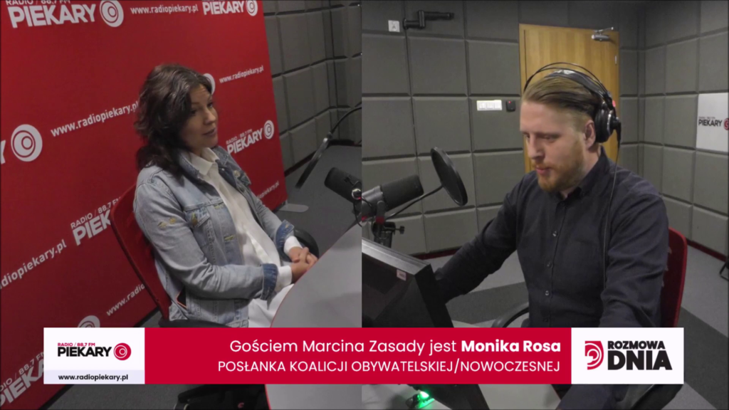 Rozmowa dnia w Radio Piekary | Monika Rosa