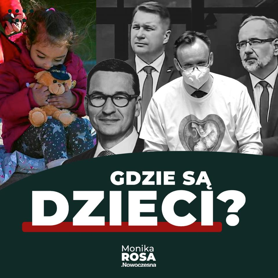 Gdzie są dzieci?   Monika Rosa