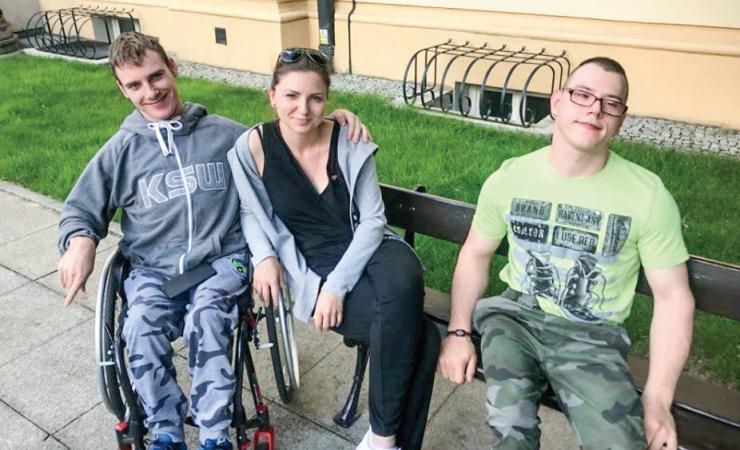Wsparcie dla osób z niepełnosprawnościami | Monika Rosa